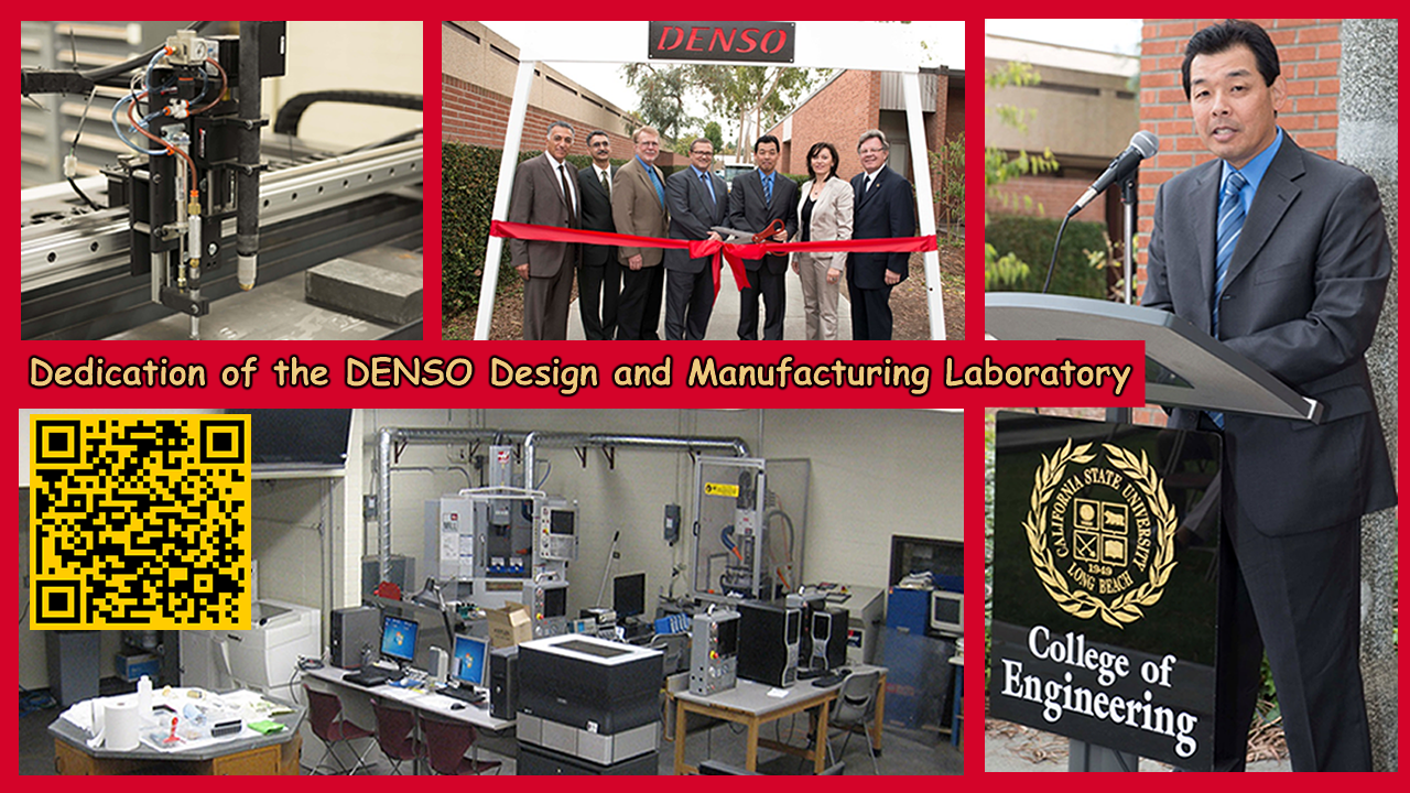 Denso Design and Manufacturing Laboratory 2014 September 23