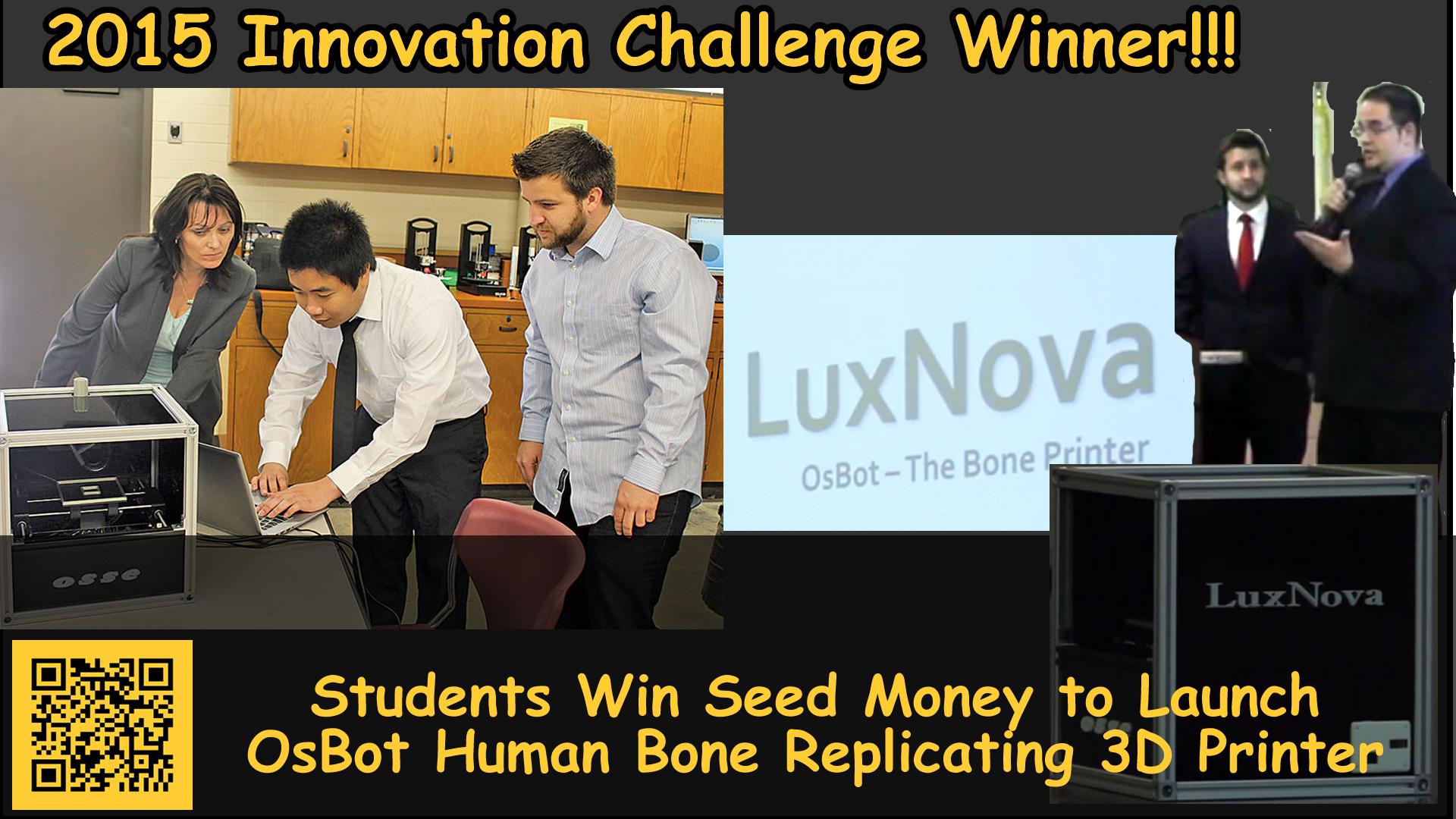 2015 Innovation Challenge Winners