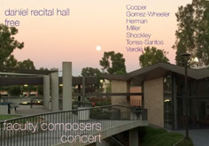 Faculty Composers Concert.
