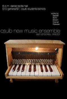 New Music Ensemble                               .