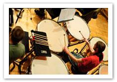 Percussion Ensembles.