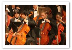 Bob Cole Conservatory Symphony Orchestra.