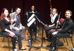 University Wind Quintet.