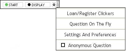 Select Loan/Register Clickers