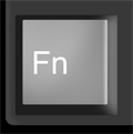 Function key is usually on the bottom left of the keyboard