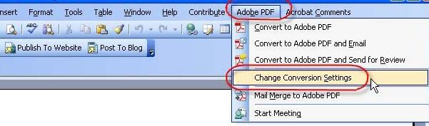 word converting pdf not responding taging