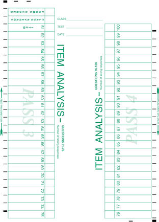 Scantron Form 9700 page  2