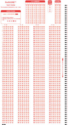 Scantron Form 288-L page 2