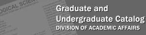 Graduate and Undergraduate Catalog, Division of Academic Affairs