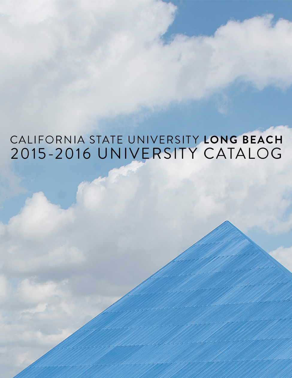 2015-16 CSULB Catalog Cover