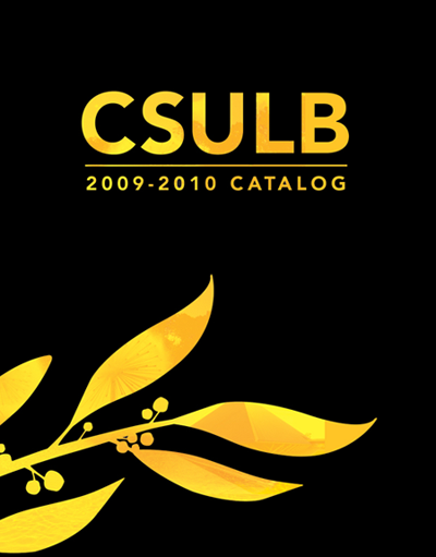 2009-2010 CSULB Catalog Cover