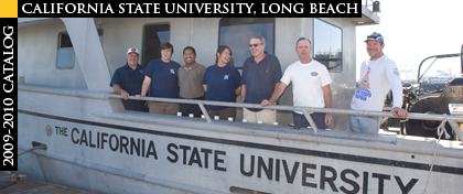 CSULB Ocean Studies program on a boat