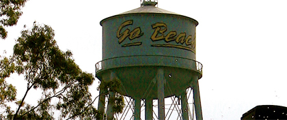 CSULB Water Tower