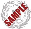 Sample of the CSULB University Seal