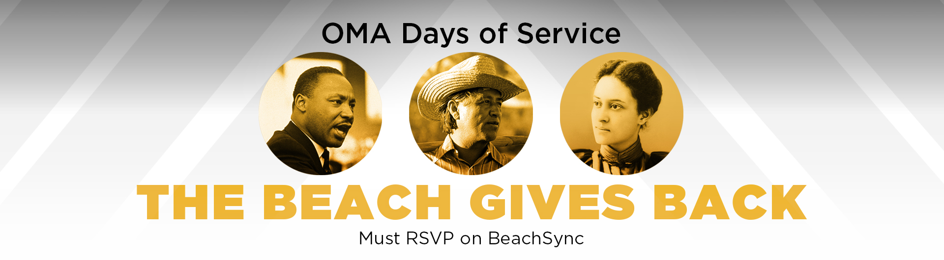 OMA Days of Service - The Beach Gives Back - Must RSVP on BeachSync