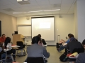 students awaiting presentation