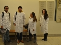 student researchers posing